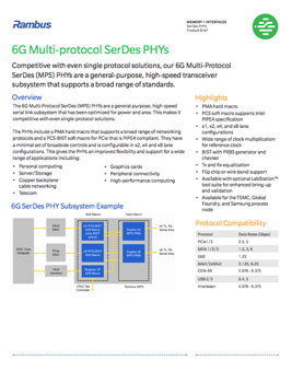 6G PHY Product Brief